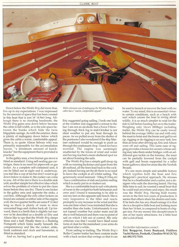 Classic Boat Magazine - Page 3 (1989)