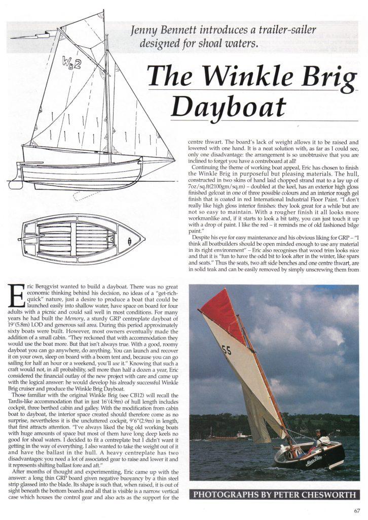 Classic Boat Magazine - Page 1 (1991)