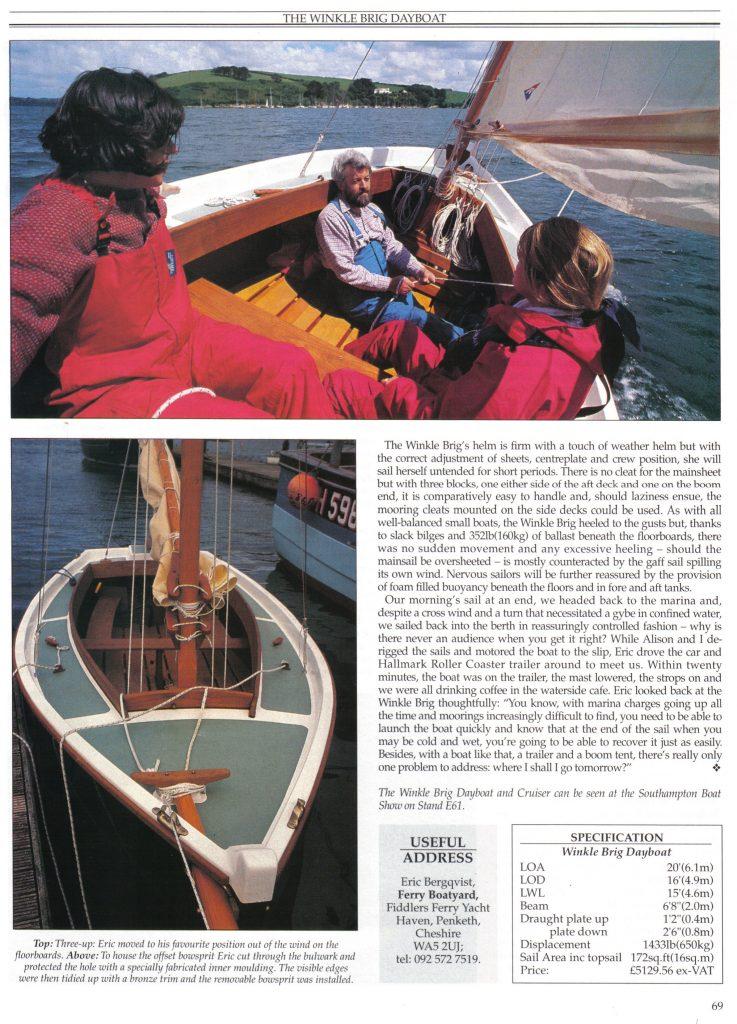 Classic Boat Magazine - Page 3 (1991)