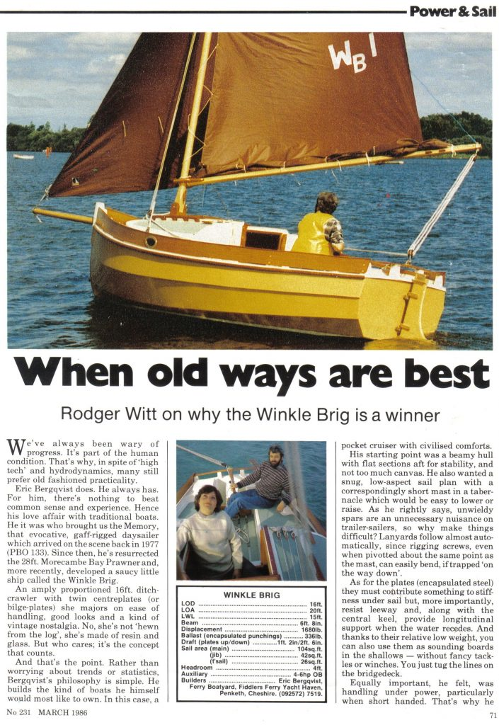 Practical Boat Owner Magazine - Page 1 (March 1986)
