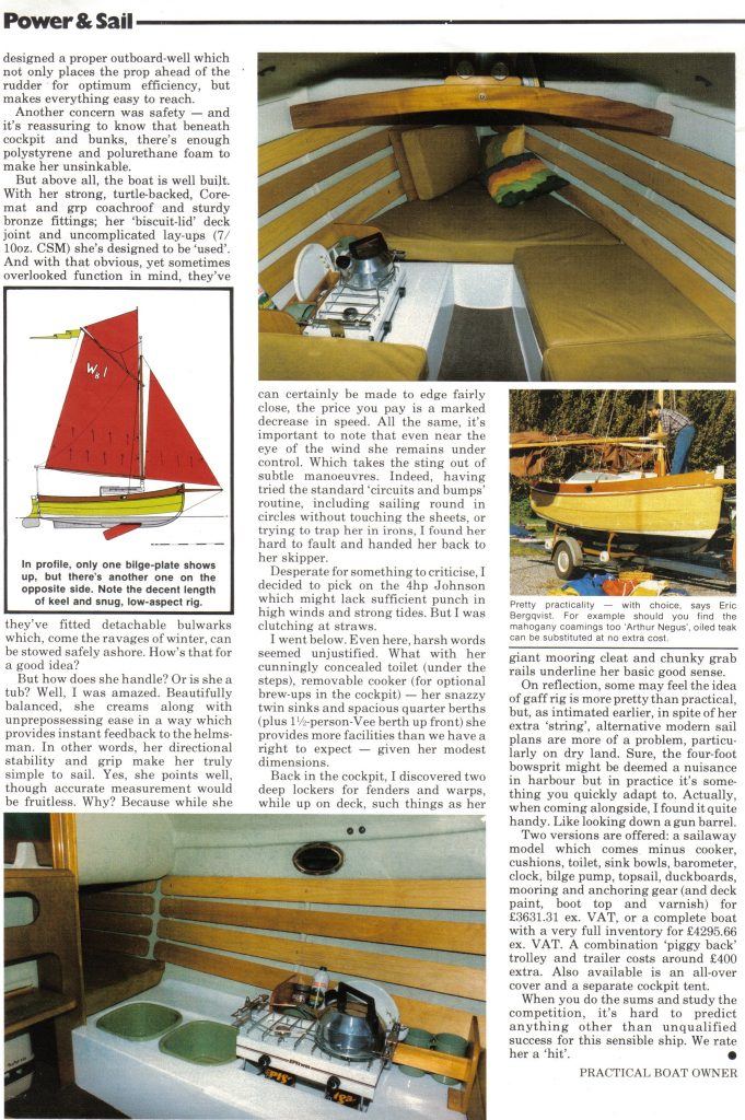 Practical Boat Owner Magazine - Page 2 (March 1986)