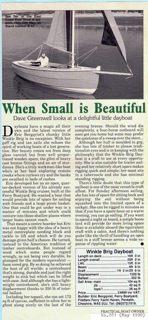 Practical Boat Owner Magazine (1990)