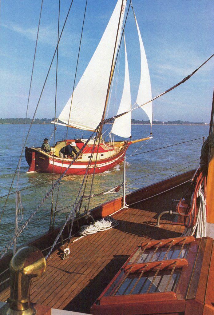 Yachting World Magazine - Page 1 (January 1987)
