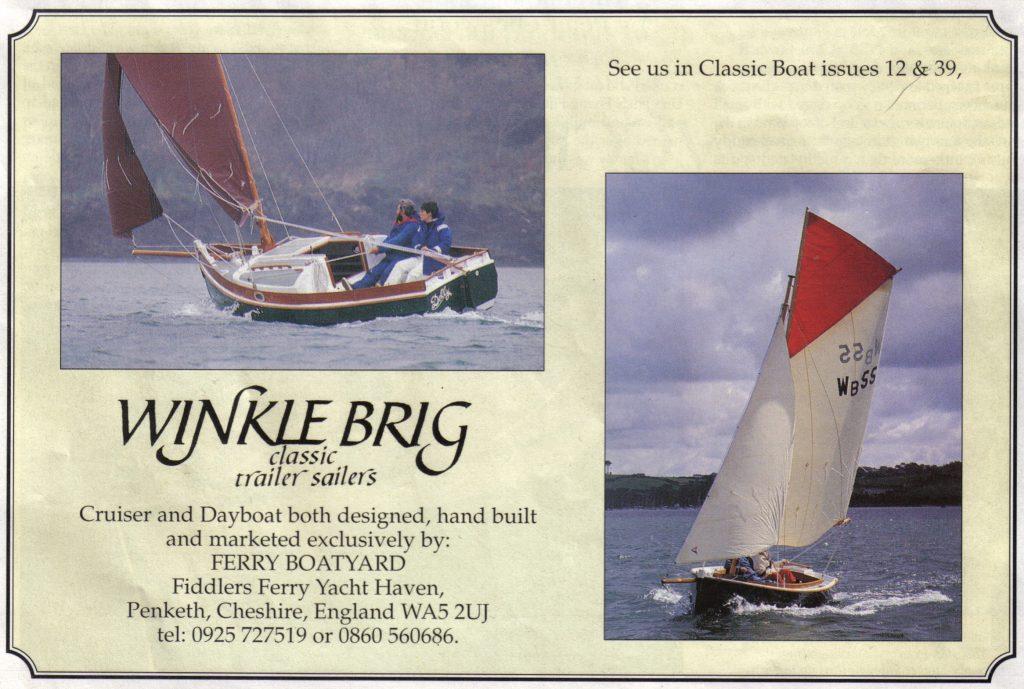 Colour landscape Winkle Brig advert